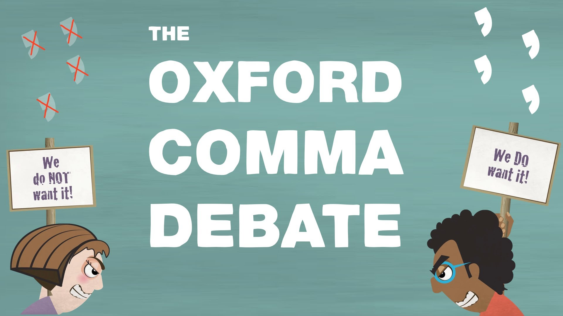 Oxford Comma, YouTube, Verat Copywriting